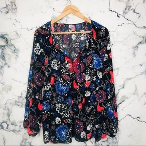🧡3/$25🧡Old Navy Long Sleeve Blouse Plus Size 2XL